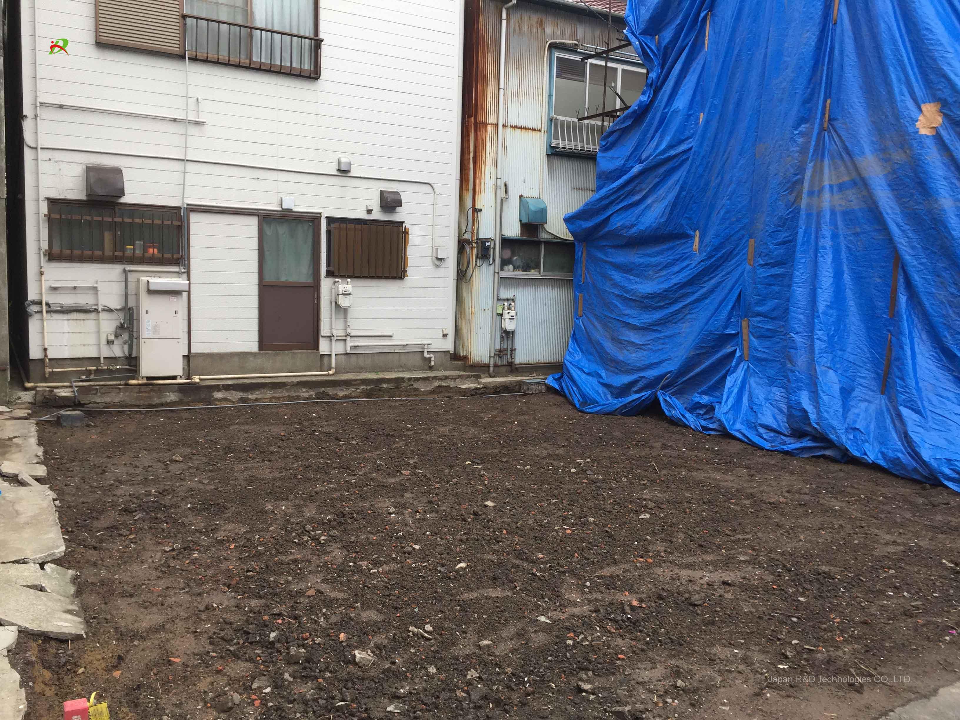 東京都 中央区 月島 切り離し解体工事