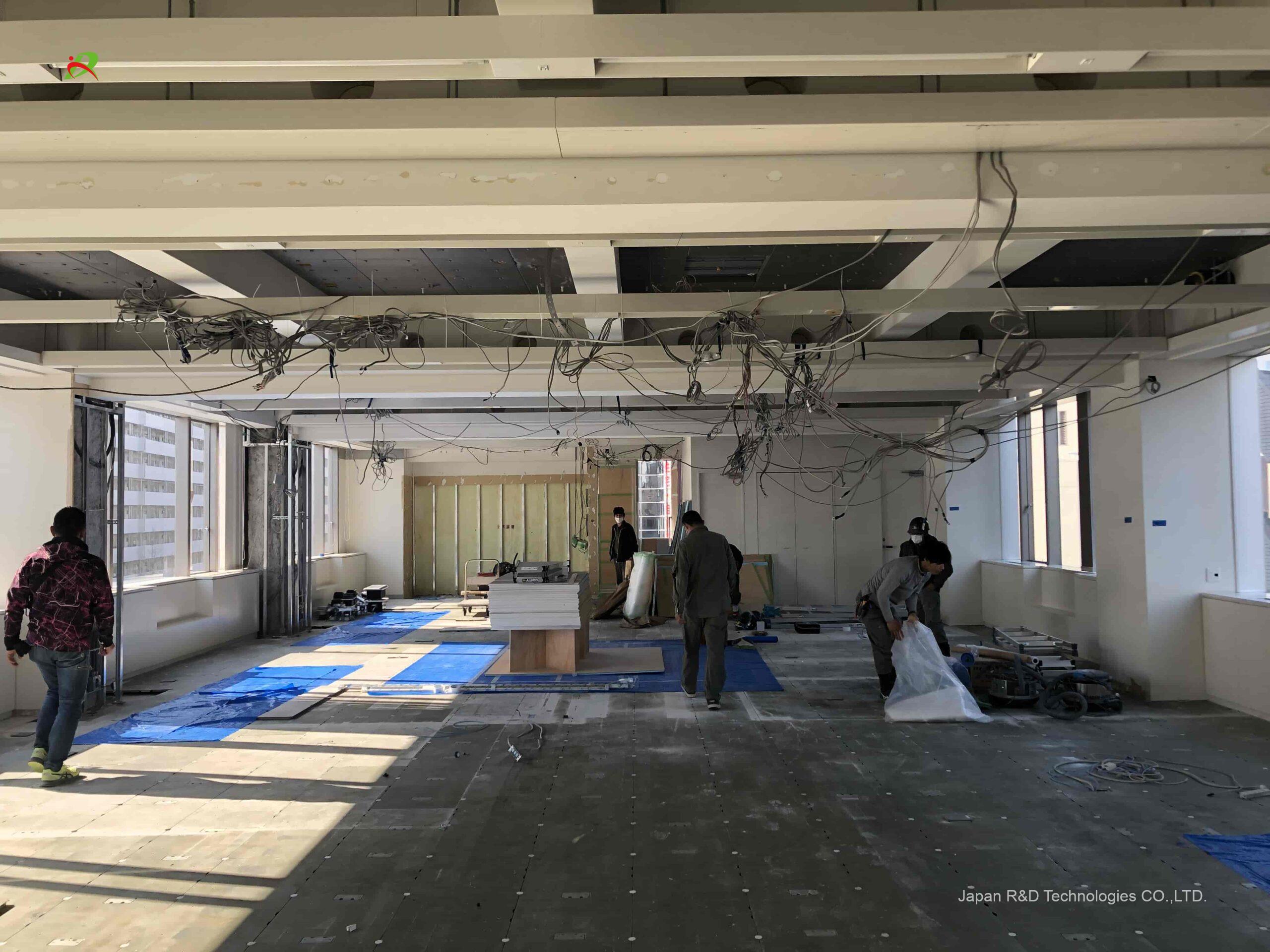 東京都 港区 スケルトン解体工事